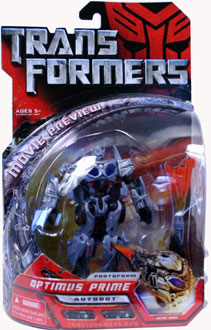 Protoform Optimus Prime Sneak Preview Figure