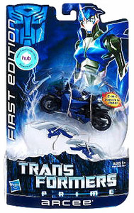 Transformers Prime Deluxe - First Edition Arcee