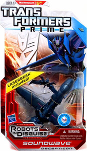 Transformers Prime Deluxe - Soundwave and Laserbeak