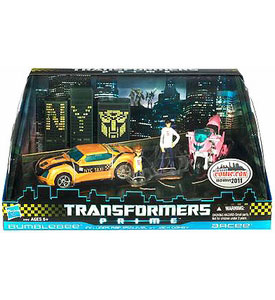 Transformers Prime NYCC 2011 Exclusive - Bumblebee and Arcee
