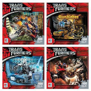 TRANSFORMERS 100-Piece Puzzle 4-pack