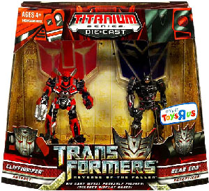 Revenge Of The Fallen Titanium - Cliffjumper and Dead End