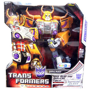 Supreme Class Exclusive Unicron