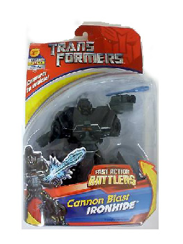ACTION BATTLERS: Cannon Blast IRONHIDE