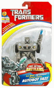 ACTION BATTLERS: Ion Blast AUTOBOT JAZZ