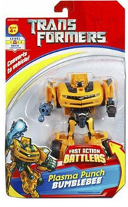 Fast Action Battlers - Plasma Punch Bumblebee
