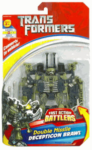 Fast Action Battlers - Double Missile Decepticon Brawl