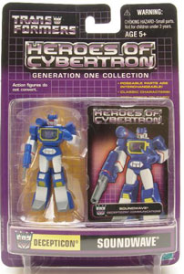 Heroes of Cybertron: Soundwave