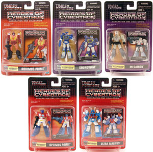 Heroes of Cybertron: Series 1 Set of 5