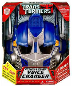 Optimus Prime Voice Changer