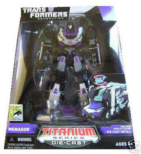 Titanium Exclusive: Menasor