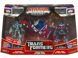 Titanium Ultimate Optimus Prime Box Set