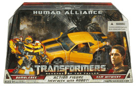 Human Alliance Bumblebee with Sam Witwicky