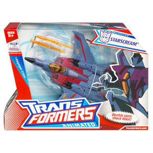 Animated Voyager - Starscream