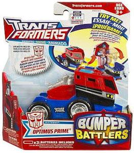 Animated Bumper Battlers - Optimus Prime