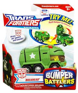 Animated Bumper Battlers - Bulkhead