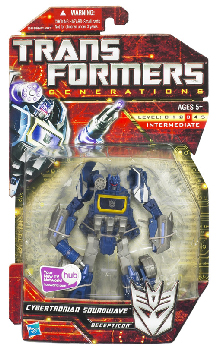 Generations Deluxe Class - Cybertron Soundwave