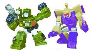 Universe Robot Heroes - Hound and Blitzwing