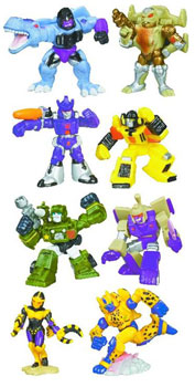 Transformers Universe Robot Heroes Wave 1 Set of 4