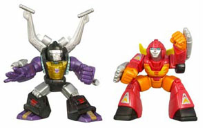 Robot Heroes: Rodimus and Insecticon