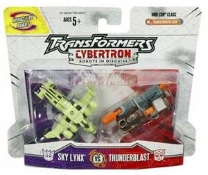 Sky Lynx VS. Thunderblast