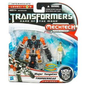 Transformers 3 Movie Basic Class - Autobot Thunderhead and Major Tungsten