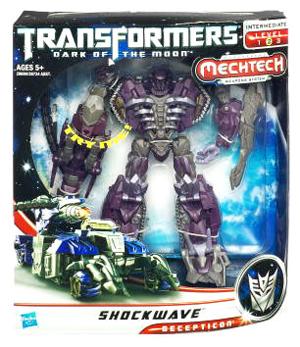 Transformers 3 Movie Voyager Class - Decepticon Shockwave