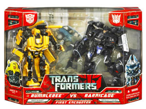 BUMBLEBEE vs. BARRICADE: FIRST ENCOUNTER Battle Pack