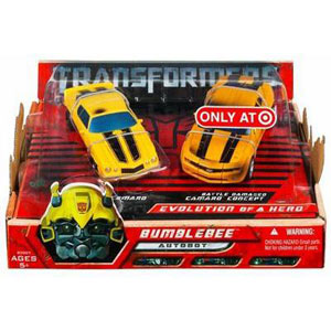 TRANSFORMERS EVOLUTION OF A HERO - BUMBLEBEE 2-Pack