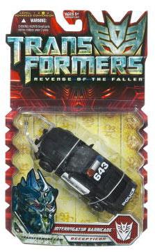 Revenge Of The Fallen Deluxe - Interrogator Barricade