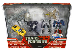 Transformers Movie Legends 6-Pack