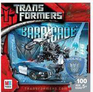 Transformers Movie Puzzle 100-Pieces: Barricade