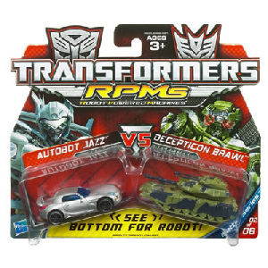 RPMs - Autobot Jazz VS Decepticon Brawl