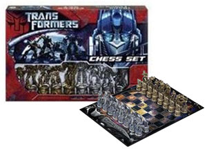 Transformer Chess Set