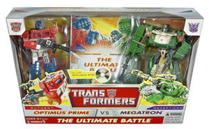 Optimus Prime Vs Megatron - The Ultimate Battle