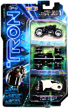 Tron Legacy Exclusive - HERO Vehicle 3-Pack [Vintage Light Cycle, Sam Light Cycle, Off-Road Light Cycle]