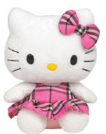 Hello Kitty Pink Tartan