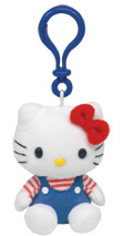 Hello Kitty Blue Overalls - CLIP