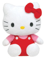 Hello Kitty Red Overalls