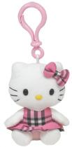 Hello Kitty Pink Tartan - CLIP