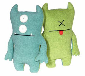 Bop N Beep Blue and Green 13-Inch Plush