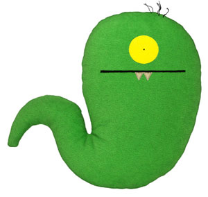 Uglyworm - 13-Inch Plush