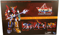 Voltron Lion Force Gift Set