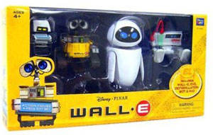 Disney Wall-E - 4 PCS Box Set