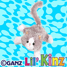 LilKinz - Grey and White Cat