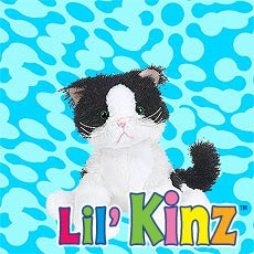 LilKinz - Black and White Cat