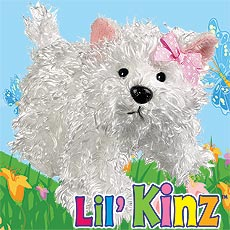 LilKinz - White Terrier