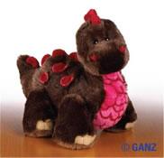 Webkinz - Cocoa Dinosaur HM338