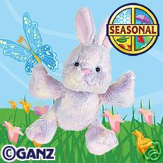 Webkinz Sherbert Bunny Holiday Edition