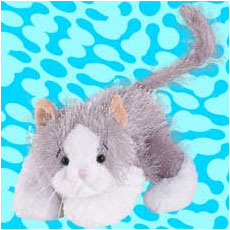 Webkinz Gray And White Cat